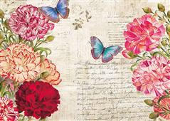 Cuadro canvas flores botanique moderne IV