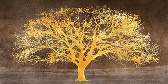 Cuadro canvas moderno shimmering tree ash