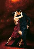 Cuadro canvas figurativo that tango moment