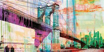 Cuadro canvas moderno the bridge 2.0
