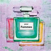 Cuadro canvas baño pour femmes II