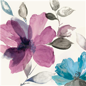 Cuadro canvas flores surrender II