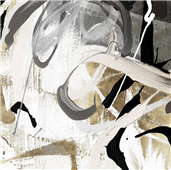 Cuadro canvas abstracto tangled I