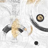 Cuadro canvas abstracto orbite stellari