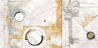 Cuadro canvas abstracto vestigia