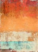 Cuadro canvas abstracto afternoon seaside