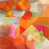 Cuadro canvas abstracto dusk