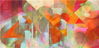 Cuadro canvas abstracto alternate movements
