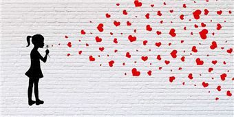 Cuadro canvas moderno sowing the seeds of love