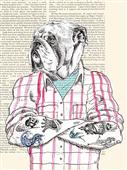 Cuadro canvas moderno matt spencer hipster social