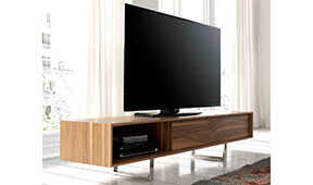 Mueble tv nogal Lotter