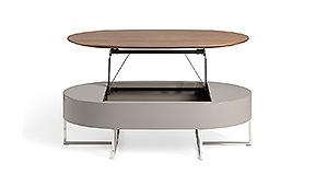 Mesa de centro Moderna elevable Oxford - Mesas de Centro de Diseño - Muebles de Diseño