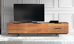 Mueble de Tv industrial Bering