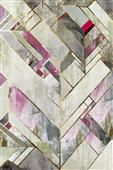 Cuadro canvas blush deco II - Cuadros serigrafiados - Objetos de Decoración