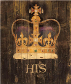 Cuadro canvas his majestys crown
