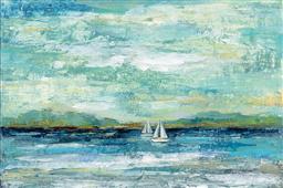 Cuadro canvas calm lake