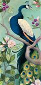 Cuadro canvas pretty peacock I