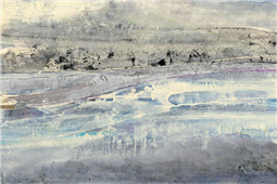 Cuadro canvas silver horizon