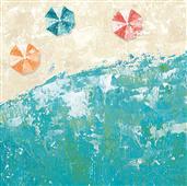 Cuadro canvas beach days