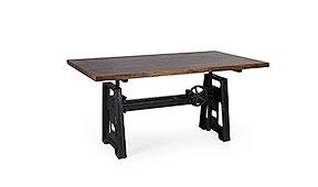 Mesa de escritorio regulable altura Pepa - Mesas de Escritorio Vintage - Muebles Vintage