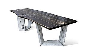 Mesa de comedor roble Reine