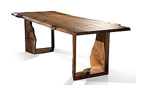 Mesa de comedor madera maciza de roble Bobal