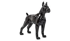 Objeto decorativo Toto XL negro