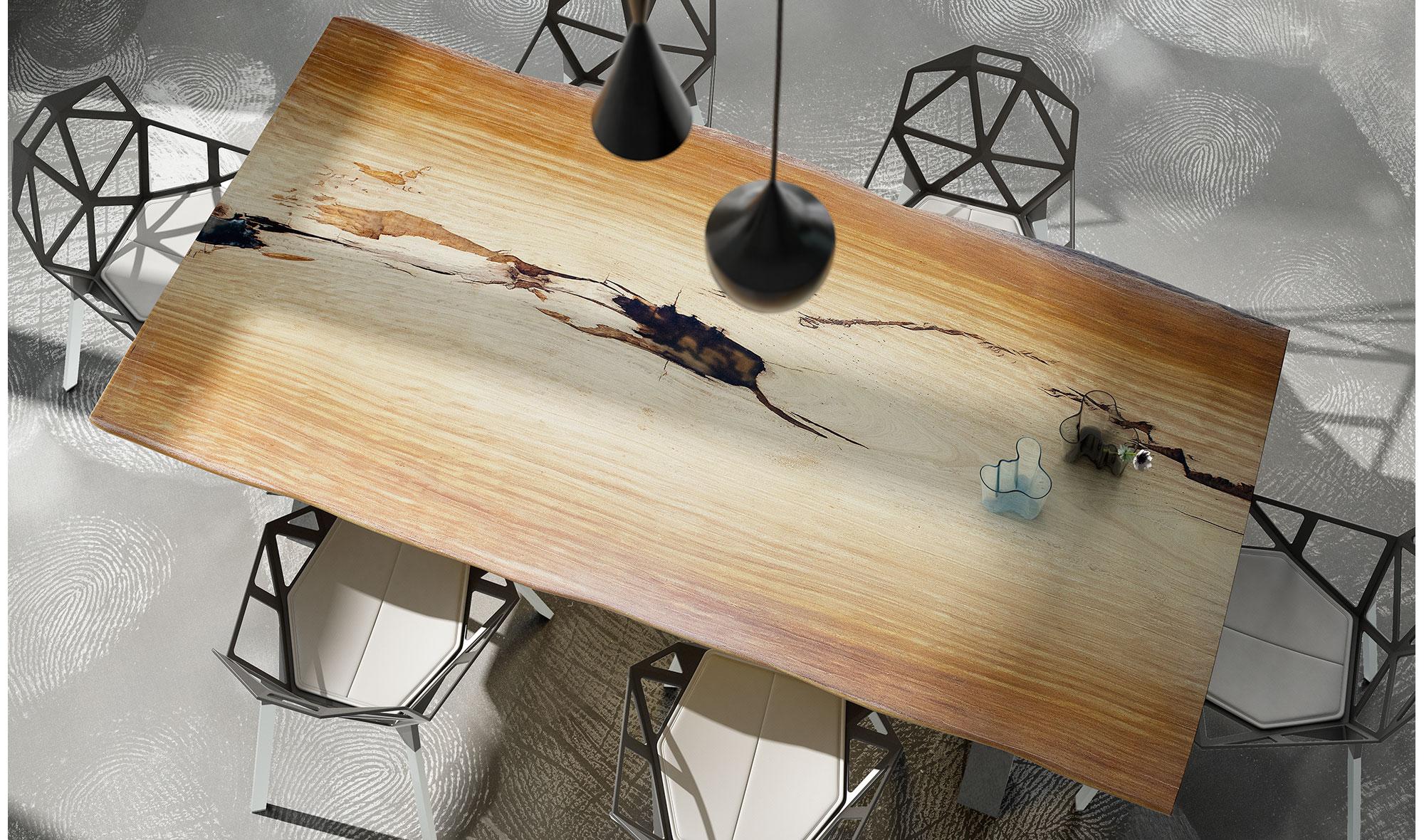 Mesa de comedor madera maciza tali Covasna en Portobellostreet.es