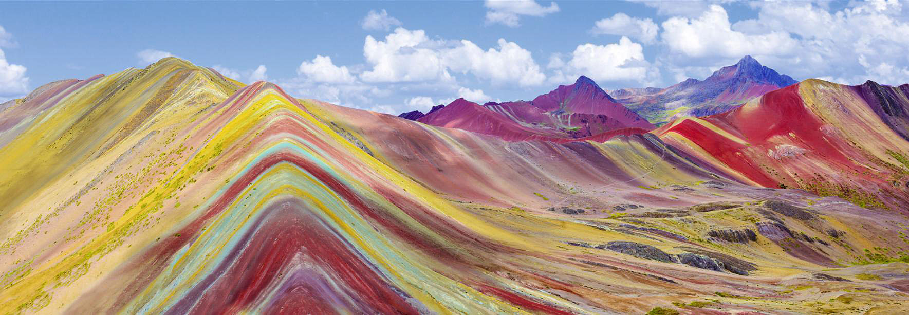Cuadro canvas vibicunca rainbow mountain peru