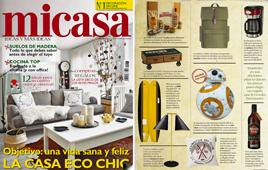 Revista MiCasa - Enero 2017 Portada y Página 19