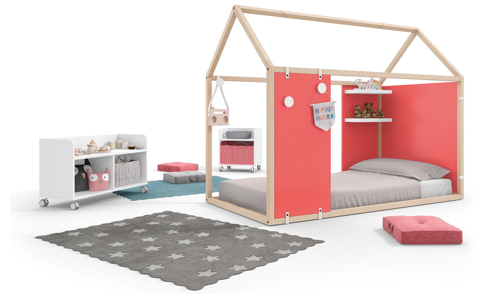 El Método Montessori en la Habitación Infantil
