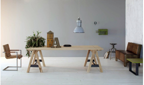 Mesa de comedor roble macizo Virate