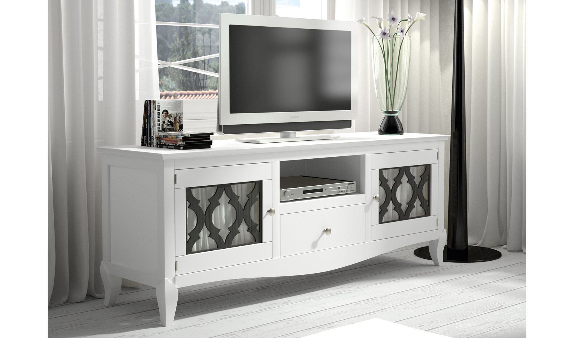 Mueble de Tv colonial Basilea