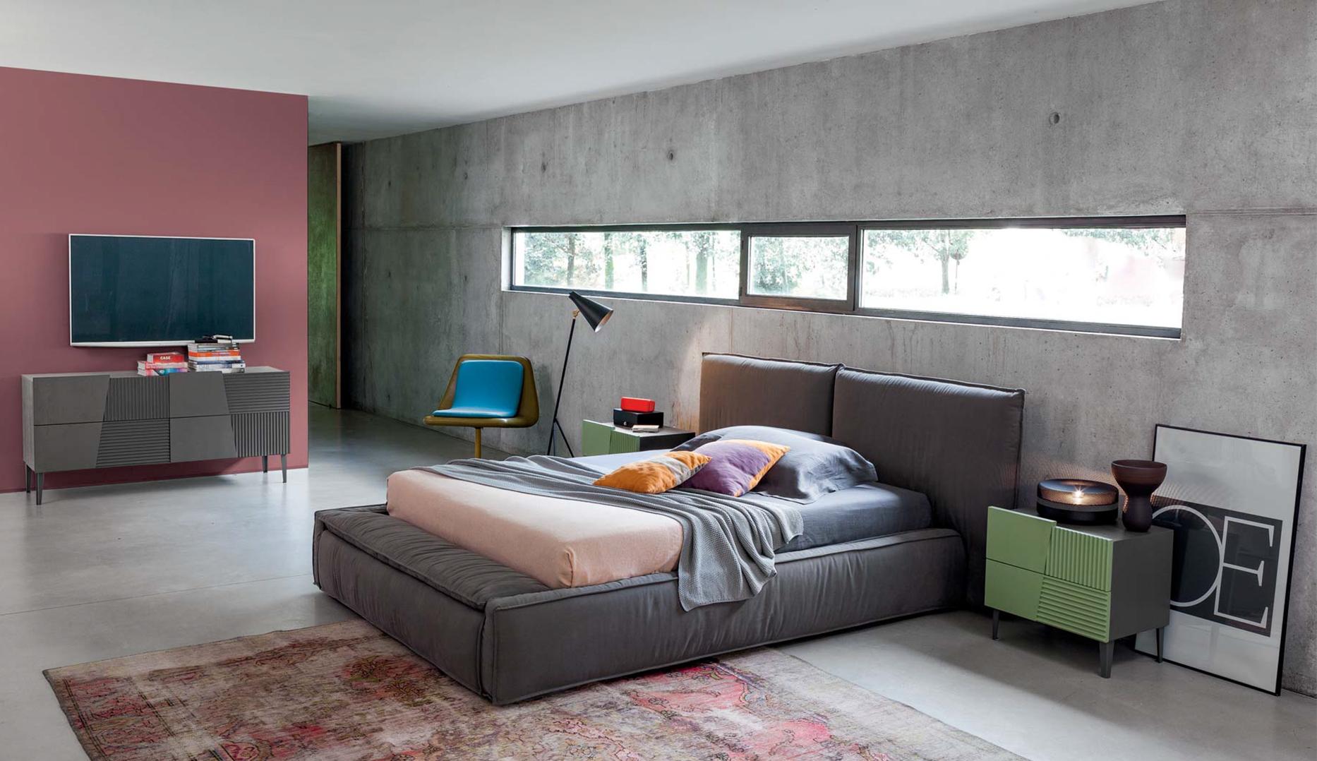 Dormitorio retro morgan ii en - Baules tapizados dormitorio ...