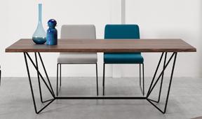 Mesa de comedor industrial Gemma