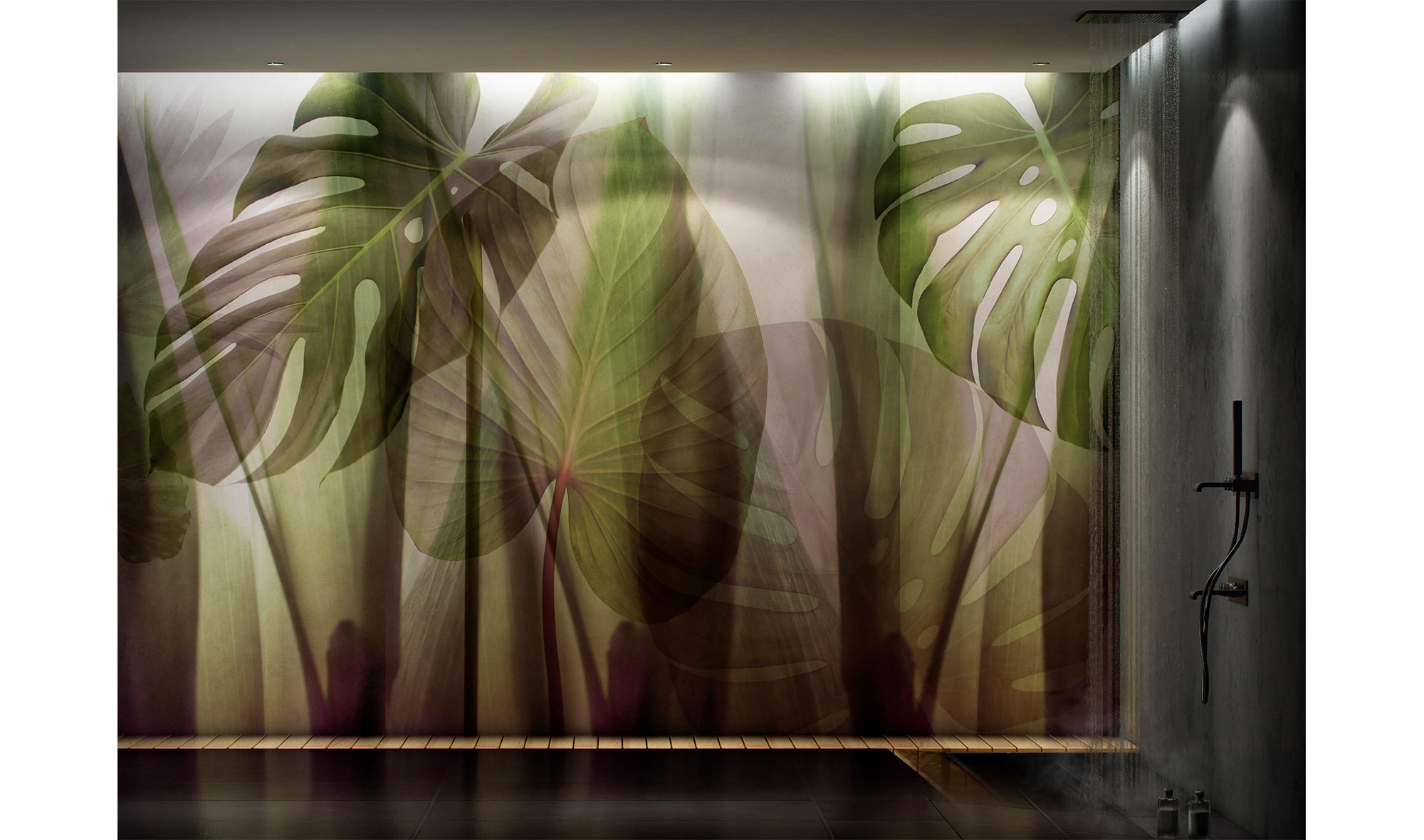 Papel pintado equatorial Jungle by Glamora
