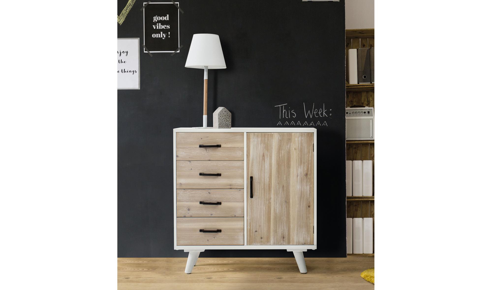 Mueble De Entrada 4 Cajones N Rdico Forset No Disponible En  # Muebles Nordicos