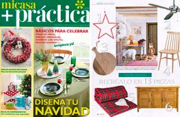 Revista Mi Casa + Práctica - Diciembre 2016 Portada y Página 26