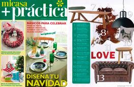 Revista Mi Casa + Práctica - Diciembre 2016 Portada y Página 27