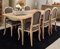 Mesa de comedor extensible vintage Agueda