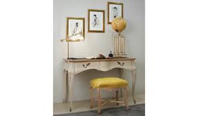 Mesa de escritorio 2 cajones vintage Saona