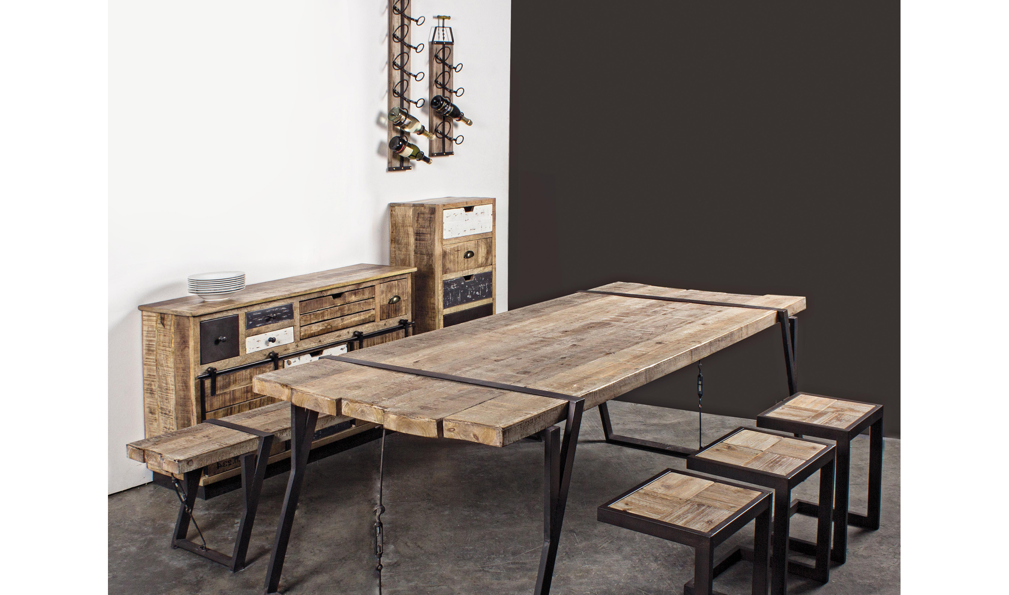 Comedor industrial country no disponible en - Muebles industriales baratos ...