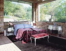 Dormitorio vintage Cottage Tonin Casa
