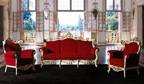 Salón barroco Albo Tonin Casa