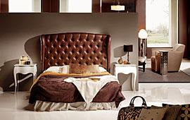 Cabeceros y camas de piel y tapizados en cosas de arquitectos cosas de arquitectos - Cabeceros tapizados vintage ...