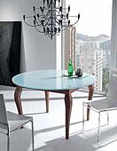 Mesa de Comedor Redonda Cassis - Mesas de Centro de Diseño - Muebles de Diseño