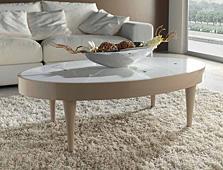 Mesa de Centro Ovalada Nassau - Mesas de Centro de Diseño - Muebles de Diseño