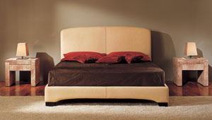 Dormitorio Vintage de piel Perla