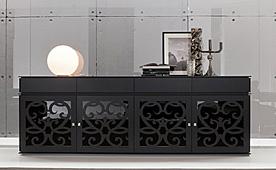 Aparador de diseño 4 puertas 4 cajones Paris Tonin Casa