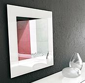 espejo moderno cuadrado toshima